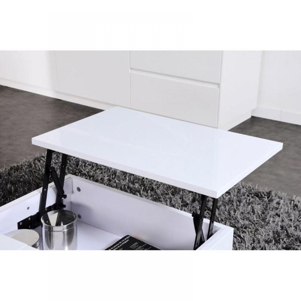 Table Basse Relevable Avec Rangement Table Basse Avec