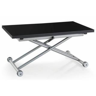 table basse relevable extensible 2eme choix updown noire mate carbone exclusivite magasin paris 4e
