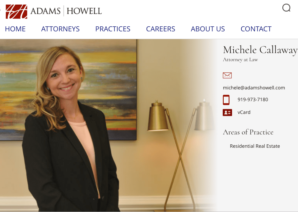 Michele Calloway - Adams Howell Lawfirm