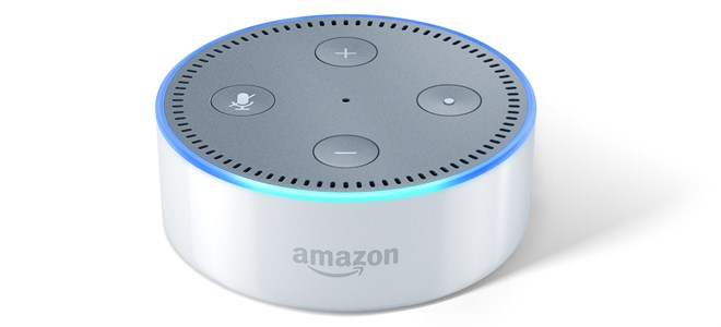 Echo Dot -White , Front , On Crop (1)