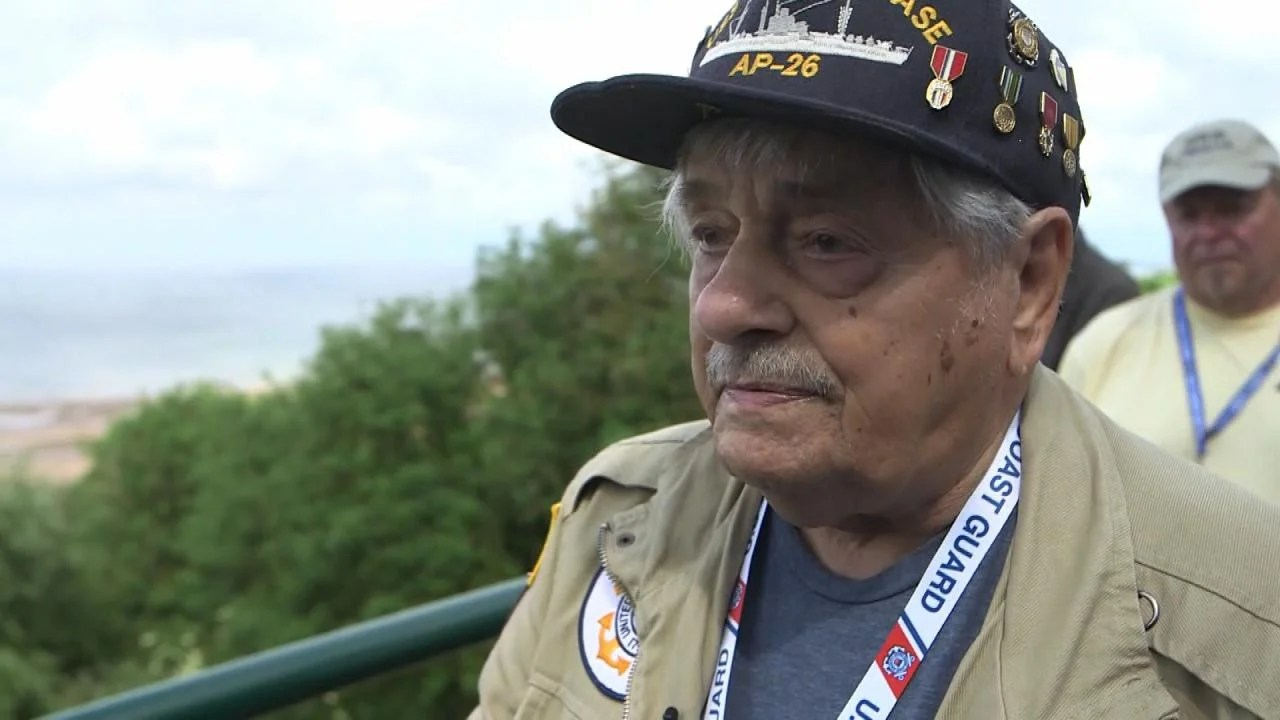 D Day Veteran Says Scenes In Saving Private Ryan Are Accurate Inside Edition
