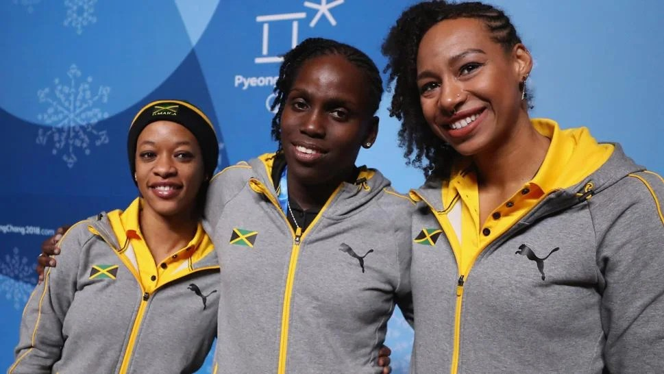 Female Jamaican Bobsled Team Prepares for Olympics, 30 ...