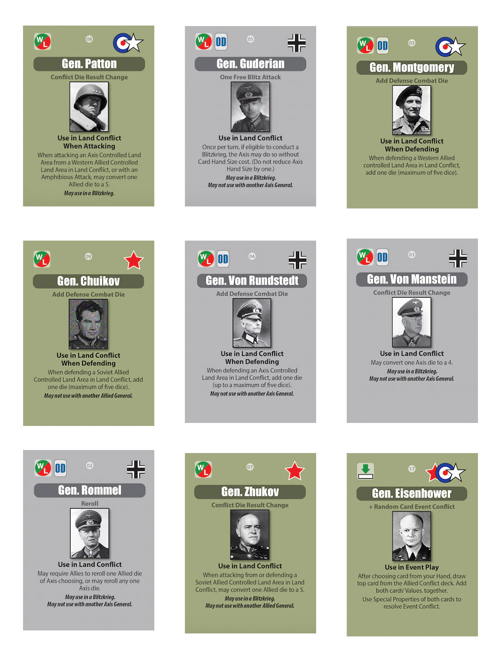 Hitler's Reich — The Reasons Why, and What the Cards Represent