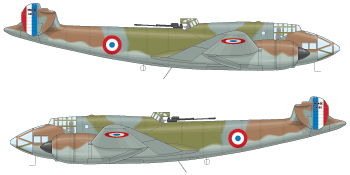 The French air force were able to give the Luftwaffe a bloody nose before they were defeated, but aircraft such as this Leo 451 have been all but airbrushed out of air combat wargaming.