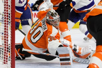 Goalie Michal Neuvirth (#30)