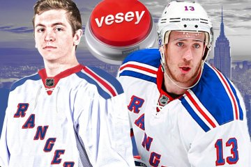 Kevin Hayes tweets moments following Vesey's decision to join the Rangers.