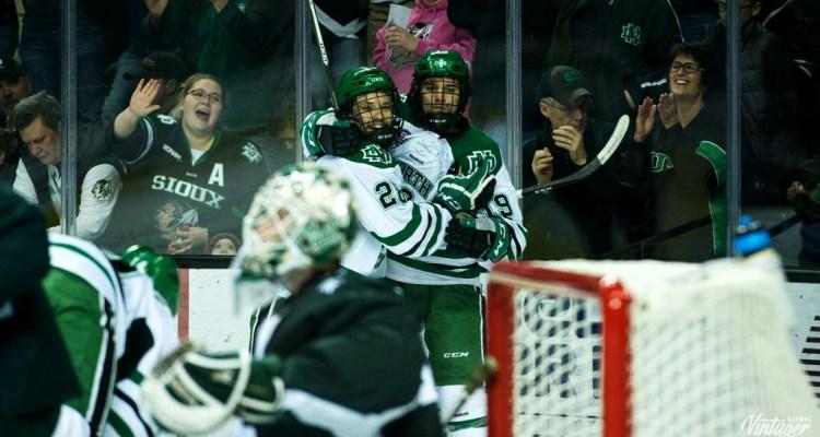 UND forward Shane Gersich (Photo Credit: Conor Knuteson, UNDsports.com)