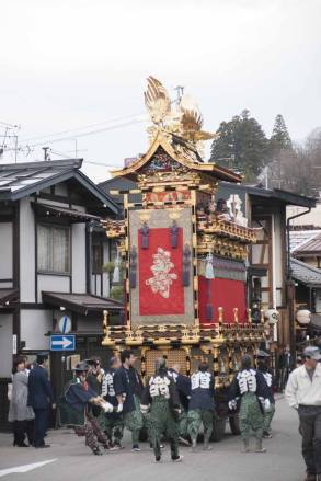 Takayama festival's famous floats