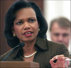 Inside Magic Image of Condi Rice