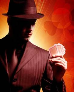 Inside Magic Image of The Card Shark Show Promotional Picture
