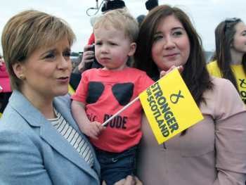 Permalink to: Sturgeon embraces the generations with pension promises