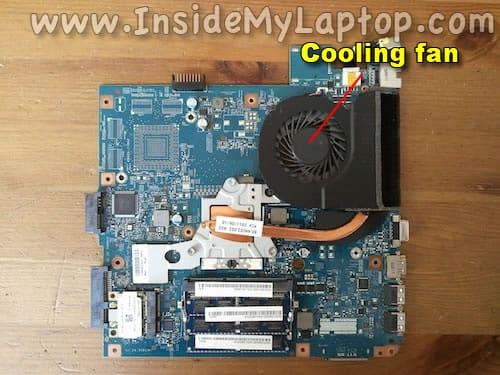 Cooling fan and heatsink