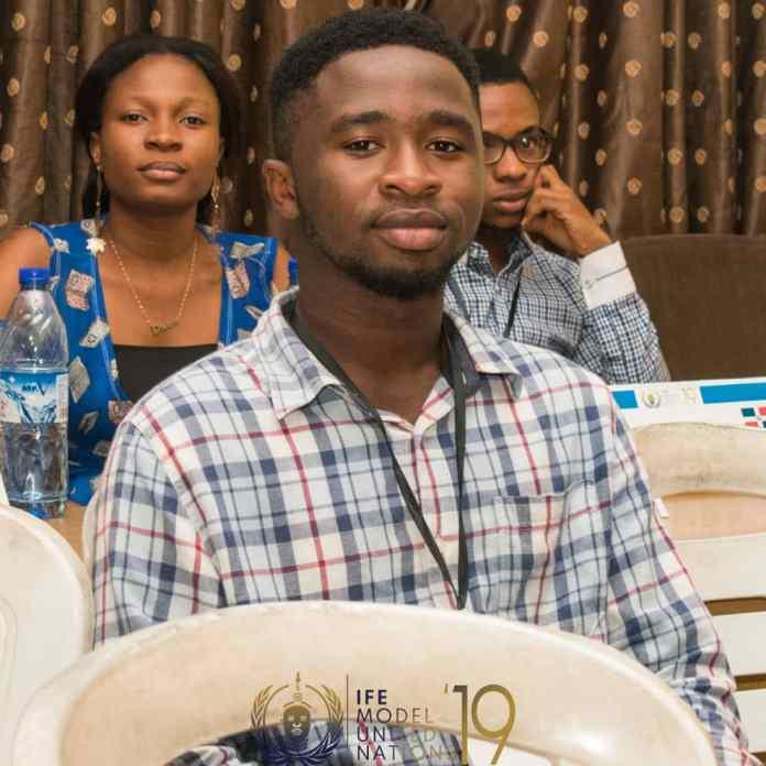 Mr. Adebowale Damilola an OAU undergraduate and a popular Twitter influencer