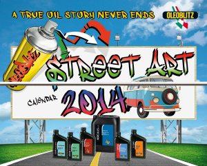 OLEOBLITZ STREET ART Calendario