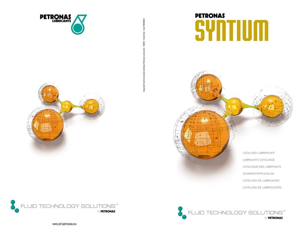 PETRONAS SYNTIUM CATALOGO LUBRIFICANTI 2012 copertina