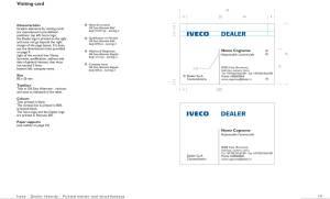 IVECO - PREMISES Branding System communication