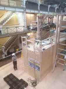 Skeletten   Demontage skelet bultrug   National Museum of Ireland