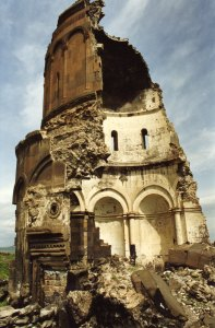 The spectacular and haunting ruins of Ani, Kars.