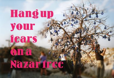 Evil eye 'nazar' tree in Cappadocia – don't leave your fate to chance!