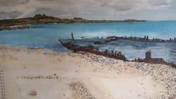 Craig's take on the shipwreck at Suvla Bay.