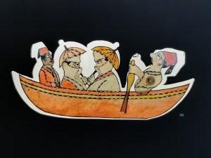 Греби, греби, греби на лодке ... Вы видели Карагоз в действии?