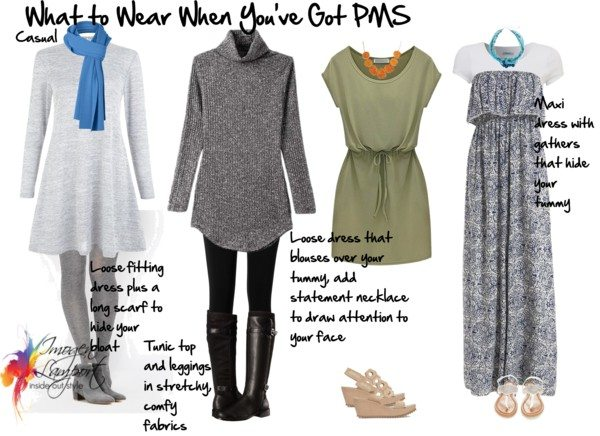 Knit Elastic Belt Dress