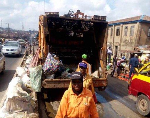 Image result for Makinde declares state of Emergency on waste management