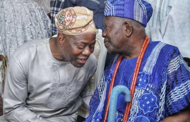 Image result for Governor Seyi Makinde and the Olubadan of Ibadan, Oba Saliu Adetunji (Aje Oguguluso 1)