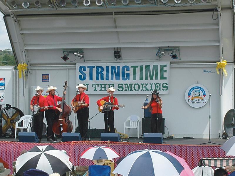 Stringtime in the Smokies – Bluegrass Festival