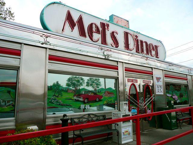 Mel S Diner Inside Pigeon Forge Tn