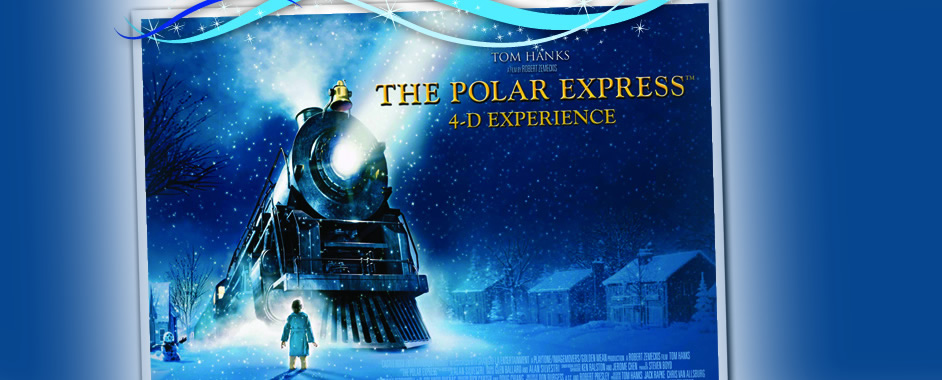 Dollywood's Polar Express in 4-D