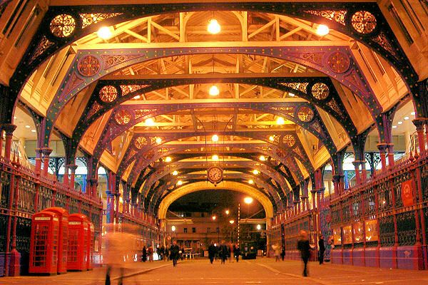 Grand Avenue, Smithfield Market (Photo: Insider London walks. http://www.insider-london.co.uk