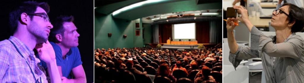 tendencias y futuro de las presentaciones de venta por menor de venta y keynote hablando