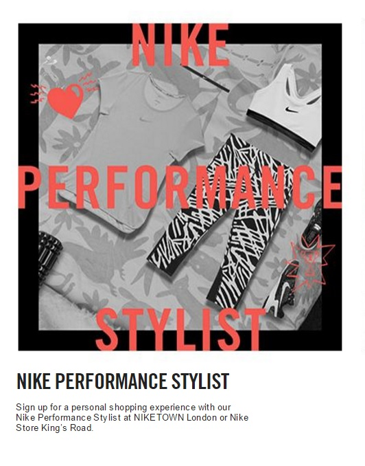 The personal shopping experience for women is back after a short run in  December. Open until 11th June at NikeTown London, Nike Performance Stylist  lets ...