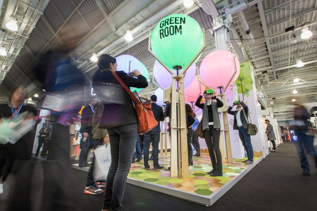 Green room mike roberts creates a case for design with a for Green room retail