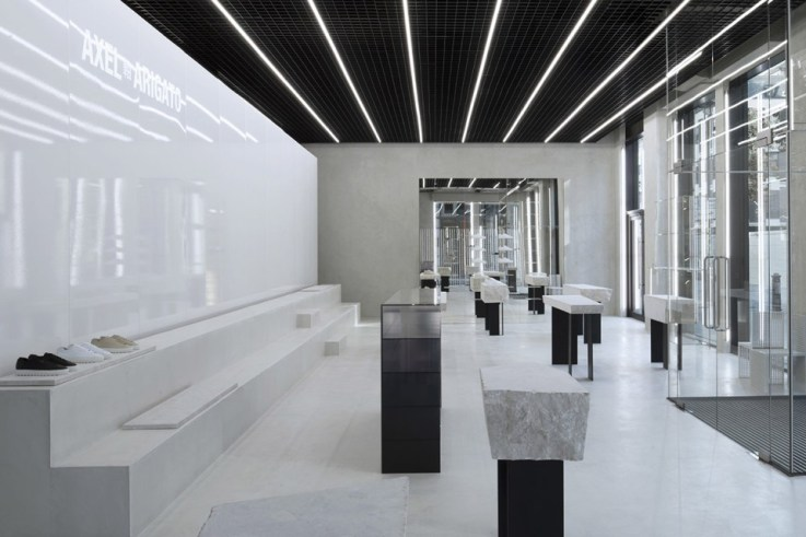 Axel Arigato flagship London interior design