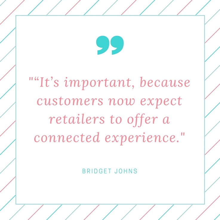 Bridget Johns RetailNext quote retail analytics