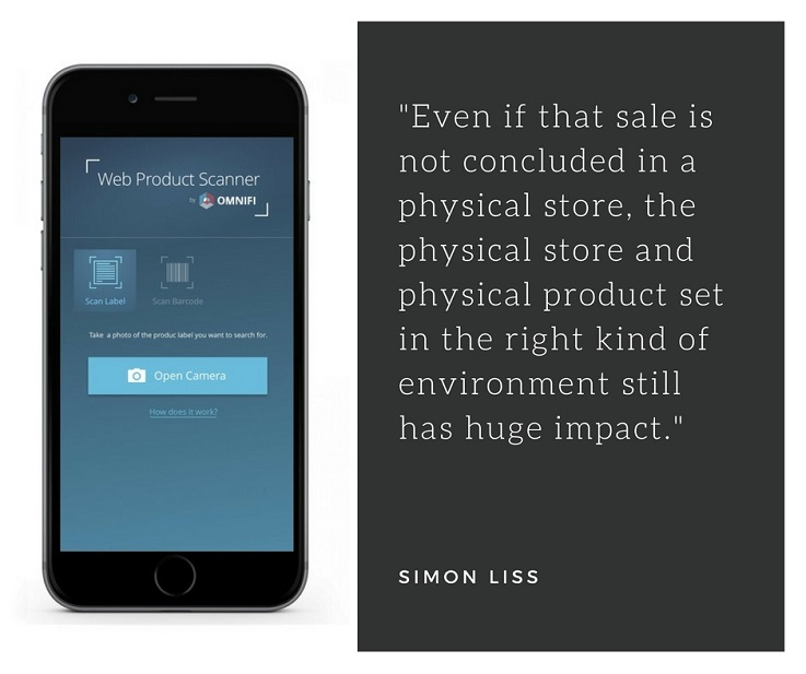 Omnifi physical retail customer experience
