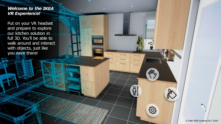 IKEA virtual reality app technology