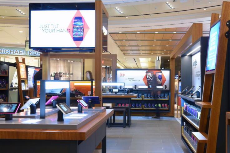 Future Of Retail-Amazon Pop-up