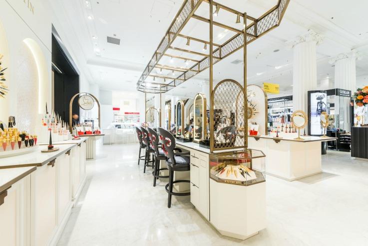 Christian Louboutin retail store design