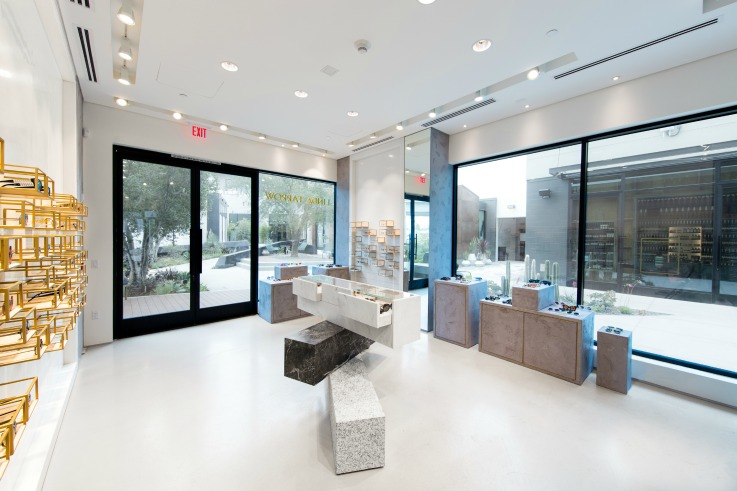 Linda Farrow design physical retail