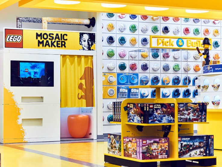 LEGO store flagship retail design