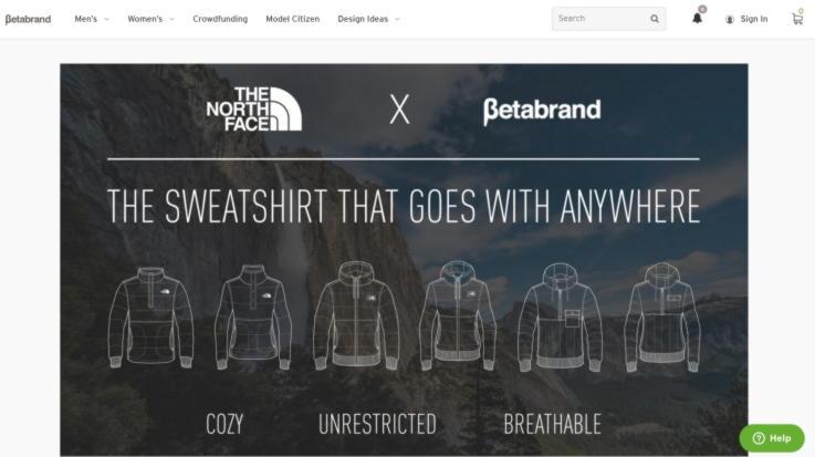 Betabrand-Retail Marketing