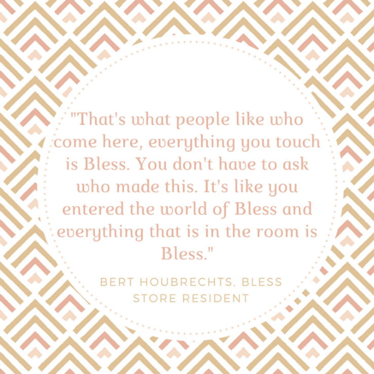 Bless Berlin - Bert Houbrechts quote