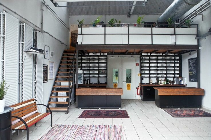our berlin retail strategy in-store office