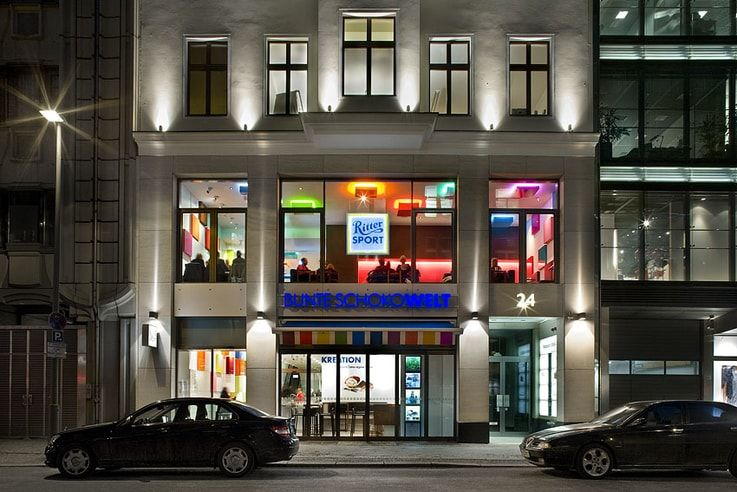 Ritter Sport - Brick-and-mortar Retail