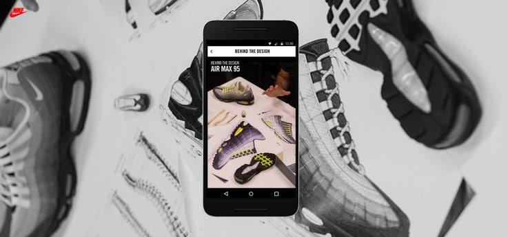Nike SNKRS retail app