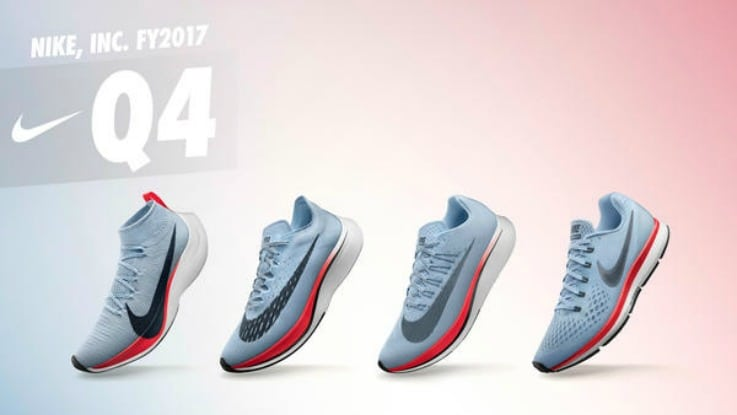 Nike sales retail