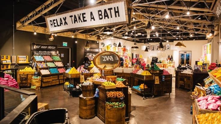 Lush Cosmetics - Physical Store